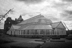 People's Palace - around the back -  Glasgow Green (velton) Tags: metropolis aviary