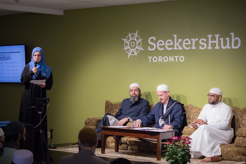 "Shaykh Yahya Rhodus at SeekersHub, Toronto and Seminar Series: Worship, Coffee and The Meaning of Life • <a style=""font-size:0.8em;"" href=""http://www.flickr.com/photos/88425658@N03/26772177081/"" target=""_blank"">View on Flickr</a>"