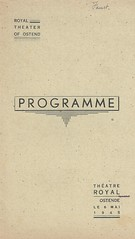 FAUST, OSTENDE 1945 (Operabilia) Tags: opra programme faust ostende monnaie baryton gounod tnor thtreroyaldelamonnaie georgesvillier claudepascalperna renlits londubressy