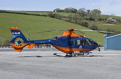 G-GLAB PDG Helicopters / General Lighthouse Authorities EC135T2+ @ Castle Air Charters Ltd, Liskeard, Cornwall. (Cornish Aviation) Tags: lighthouse castle cornwall general air helicopters ltd authorities charters pdg liskeard ec135t2 gglab