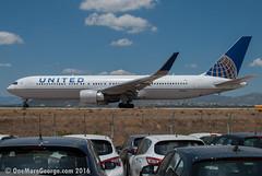 LGAV I 27.05.2016 I Boeing 767-322ER I N672UA (onemoregeorge.frames) Tags: nikon may greece boeing omg 767 unitedairlines ath heavies widebody 2016 lgav b763 n672ua d40x onemoregeorge