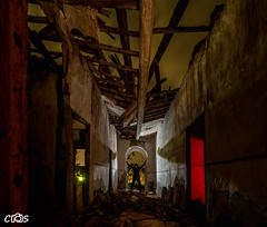 Huerta de Valedecarabanos (server.carlos) Tags: ruinas casa abandonada lightpainting pintura de luz nocturnas huerta valdecarabanos
