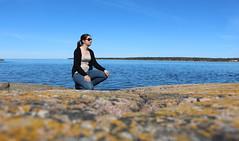 I lived (Claire-L) Tags: voyage sea mer sweden sude graso baltique rve