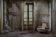 Nightmare is over (Photonirik) Tags: urban de decay chateau exploration verdure ue urbex lécoliere