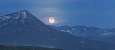 Blue Moon Rising over West Elks (Nolan Thornberry) Tags: colorado fullmoon landsend bluemoon westerncolorado fullmoonrising paoniacolorado westelks