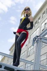 DSC_3046 (Kees Peters) Tags: woman comics spider cosplay ms superheroes marvel 2016 superheroine superheroines
