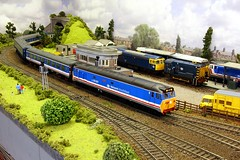 2016_06_26-3 (jonf45 - 2.5 million views-Thank you) Tags: train layout model br lion rail railway class british network bachmann southeast 50 moor oo gauge hornby revised nse langford 50027
