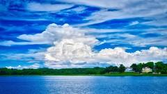 Lake Montebello & Thunderhead II (MD Phillips) Tags: park cloud lake maryland baltimore thunderhead thundercloud lakemontebello