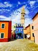 (maudepaillardcoyette) Tags: italy colors burano colorfulhouses colorfulbuildings