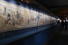 Last Invasion Tapestry. (aitch tee) Tags: tapestry fishguard 1797 walesuk historicevent llanwnda jemimanicholas thelastinvasionofbritain battleoffishguard