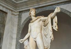 Apollo (Francisco Anzola) Tags: sculpture vatican art greek roman classical apollo antiquity vaticancity vaticanmuseums apollonian