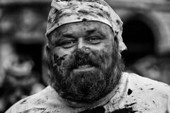 zombie portrait (fat-freddies-cat 3 million views) Tags: street portrait blackandwhite zombiewalk