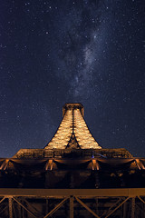 _DSC2970 (aetherei) Tags: sky paris france tower composite architecture night landscape la nikon tour australian australia melbourne eiffel astrophotography nightsky