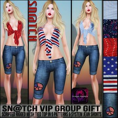 Sn@tch VIP Group Gift-Patriotic Vendor Ad LG (Tess-Ivey Deschanel) Tags: sntch snatch secondlife sl iveydeschanel ivey ihearts clothing clothes clubwear costumes cyberpunk casual capris 4thofjuly mesh model meshclothing meshclothes models bikinis summer punk pants pixels pvc party deschanel designer dresses discount