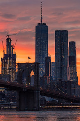 Summer Solstice (cvillandry (Instagram & Twitter @cvillandry)) Tags: city nyc newyorkcity summer newyork brooklyn manhattan streetphotography solstice brooklynbridge oneworldtrade oneworldobservatory