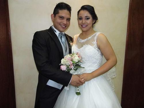 Ana Lorena y Gustavo unen sus vidas