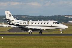 YU-SPC.EDI050716 (MarkP51) Tags: yuspc cessna 560xls bizjet corporatejet edinburgh airport edi egph scotland aviation aircraft airplane plane image markp51 nikon d7200