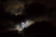Luna Plena Nebula (Ryuu Tora) Tags: moon clouds canon cloudy sweden luna fullmoon karlstad sverige mne vrmland moln mnen fullmne ef70300mmf456isusm 60d molnigt lunaplena ryuutora