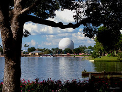 Spaceship Earth (mbone1973) Tags: wdw epcot spaceship earth world showcase tree walt disney disneycolors