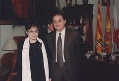 Con Yoko Ono