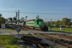 L576 Flomaton Al. (isaacfulford) Tags: railroad train photography alabama rail sd402 flomaton citx3065 csxtrainl576