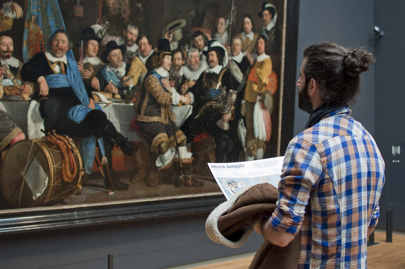 """""""Militia banquet"""" at Rijksmuseum<a href=""""http://www.flickr.com/photos/28211982@N07/16557591307/"""" target=""""_blank"""">View on Flickr</a>"""