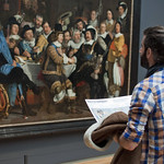 """Militia banquet"" at Rijksmuseum • <a style=""font-size:0.8em;"" href=""http://www.flickr.com/photos/28211982@N07/16557591307/"" target=""_blank"">View on Flickr</a>"
