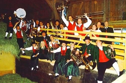 02 Gaude im Heustadl - Beim Festfuehrer BMF Sulzberg 2005