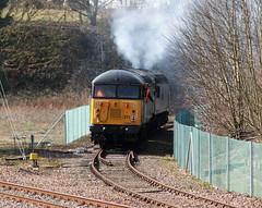 56311 Wymondham 23/03/15 (rhayward92) Tags: grid wymondham clag mnr dereham class56 56311 56312 0z56