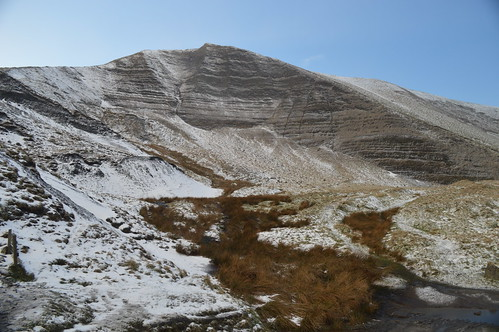 Mam Tor With a Fresh Layer of Snow