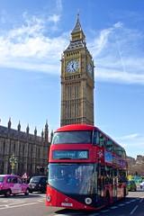 London classic (a) Tags: uk england house london sightseeing parliament bigben bluesky sunnyday redbus