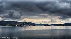 Lago d'Orta (beppeverge) Tags: lake clouds lago island nuvole cloudysky isola lagodorta nuvoloso isoladisangiulio ortasangiulio ortalake beppeverge samsungnx3000