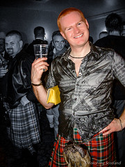The Ginger Kiltie (FotoFling Scotland) Tags: gay ginger edinburgh kilt legs event tartan commando kilted assemblyrooms selectivecolourisation meninkilts regimental freeballing lgls truescotsman switchboardcelidh