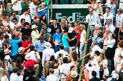 Uncle and nephew (VLetrmx21) Tags: paris coach hug victory celebration tennis final rolandgarros rafanadal rafaelnadal uncleandnephew philippechatrier tiotoni toninadal uncletoni rolandgarros2014