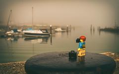 Lego-man-at-Ryde-marina (bobwight81) Tags: marina isle wight a100 ryde