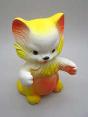 Kittens McTavish (The Moog Image Dump) Tags: cute cat vintage toy kittens kawaii mctavish squeaker squeaky