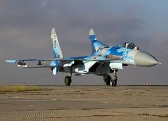 SU-27 53 CLOFTING IMG_2264+ (Chris Lofting) Tags: 53 sevastopol crimea sukhoi su27 flanker ukrainianairforce belbek