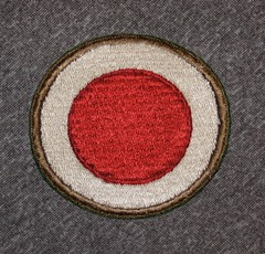 WW-2 US Army 37th Division (Pacific Kilroy) Tags: army us uniform philippines wwii worldwarii ww2 patch artifact memorabilia luzon militaria worldwartwo leyte kilroywashere pacifictheater warhistory shoulderpatch ww2collection afwespac pacifickilroy