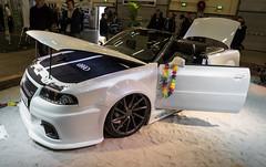 DSC00432 (Paddy-NX) Tags: sweden sverige audi jönköping 2015 elmia jönköpingslän sonysal1650 audi80cabriolet sonya77ii 20150403 bilsportperformancecustommotorshow2015