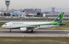 Iraqi Airways A320-200 YI-ARB (birrlad) Tags: turkey airplane airport ataturk taxi aircraft aviation airplanes istanbul international airline airbus baghdad airways airlines departure ist takeoff runway iraqi airliner departing a320 taxiway a320200 a320214 yiarb ia224
