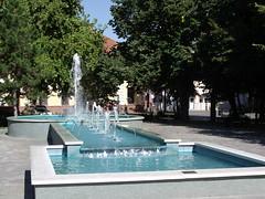 Fountain, Szentes, Hungary (The Broccoli) Tags: fountain hungary ungarn szentes hungria ungheria magyarorszg hungra hongarije hongrie