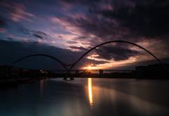 _DSC9798 (adam_reynolds) Tags: bridge sunset water river infinity stockton tees