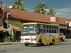 Del Norte Fighters 1037 (Monkey D. Luffy 2) Tags: road city bus public del photography photo pub nikon philippines transport utility vehicles transportation coolpix vehicle society davao norte philippine enthusiasts tagum davaobuses philbes