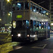 Trams and Tram Stop Wan Chai Hong Kong China