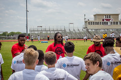 Kelvin Beachum 2016 Football Camp (Rockin'Rita) Tags: steelers youthfootball kelvinbeachum