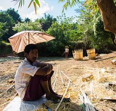 [Myanmar, Shan State] (Paul Bergot) Tags: trekking outdoor burma hike bamboo myanmar inle shanstate trekk kalaw