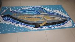 Golfinho Mosaico Piscina (Mosaico na Arquitetura) Tags: vidro arquitetura de mosaico piscina decoração parede golfinho pisos murais pastilhas