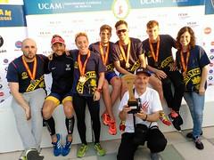 Ana Mariblanca gana el campeonato españa triatlon universitario 18