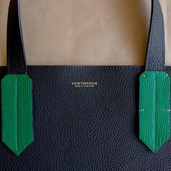 Handles in Green Lizard (Vertstone) Tags: england 6 fashion handmade wallet alligator lizard ostrich luxury iphone cardholder vertstone