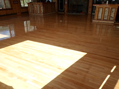 Maple floors that have been sanded and finished by Superior Floors At the Whiteface Club in Lake Placid, NY. (SuperiorFloors) Tags: floors maple sand finished flooring hardwood lakeplacid